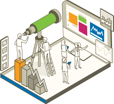Illustration of an end-to-end eCommerce agency
