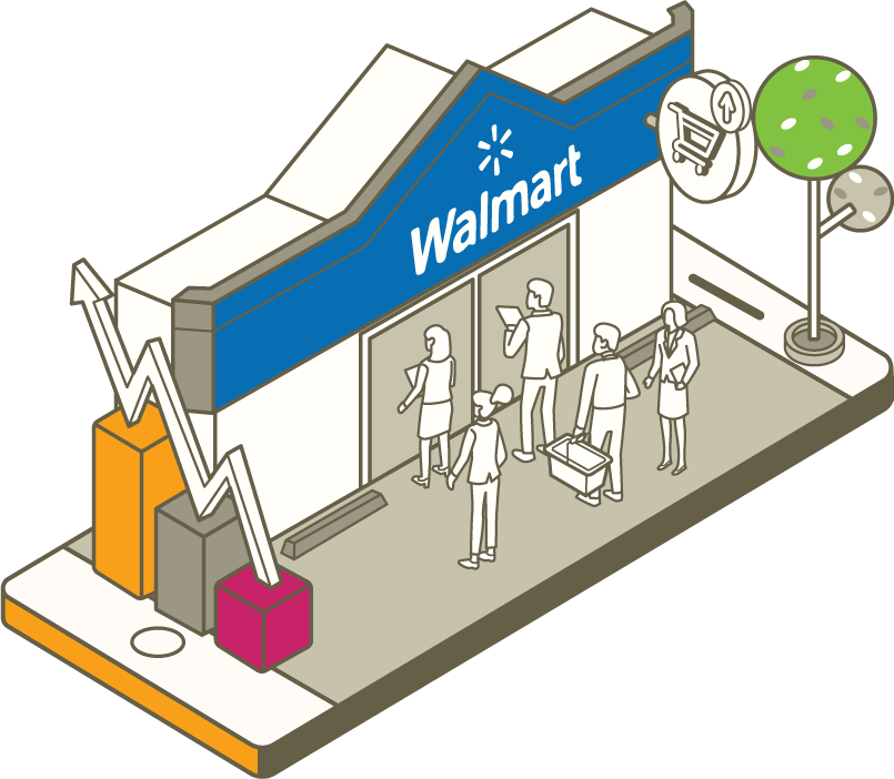 People selling on Walmart.com for shoppers.