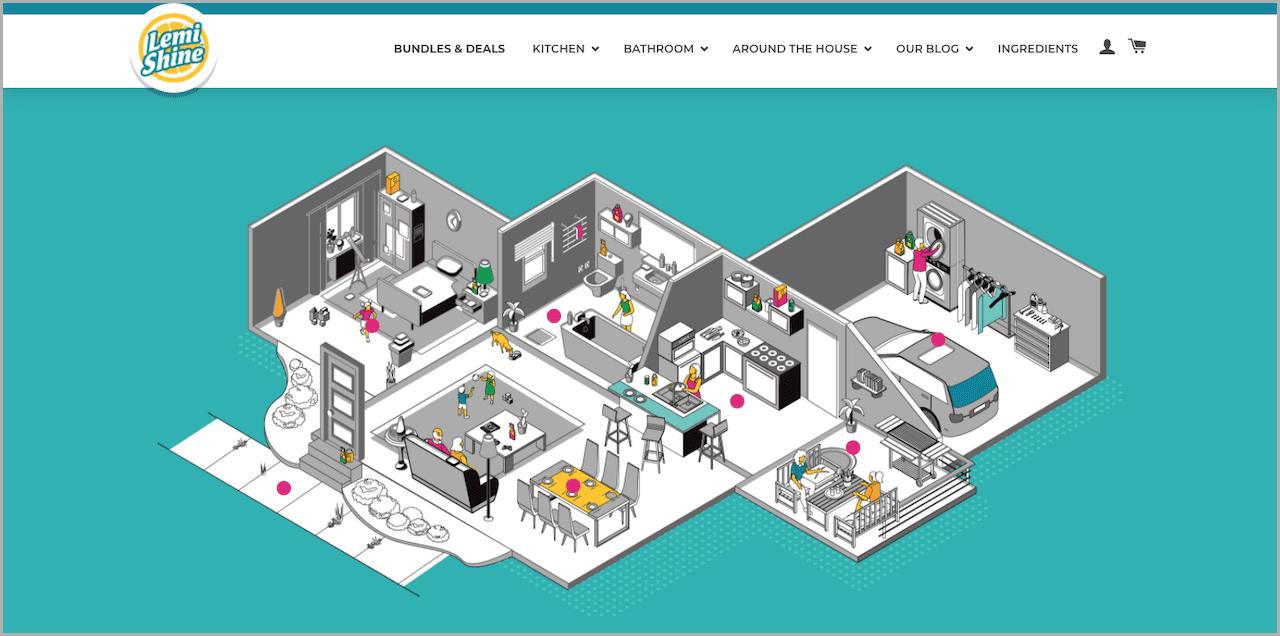 Lemi Shine Interactive Home